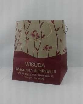 Paper Bag Kraft Sablon Paperbag Murah Bangka Barat Kab. - 102259