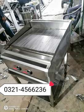 Hot plate for shawarma burger