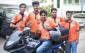 Earn upto 18000 by food delivery in entire puducherry