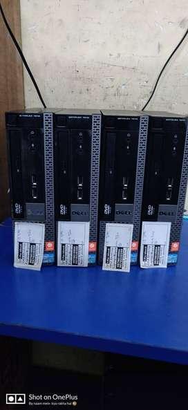 old dell i5 3rd gen desktop cpu 4gb ram 320 gb hardisk rs 9000