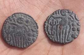 Old Ancient cholla coins (Copper coin)