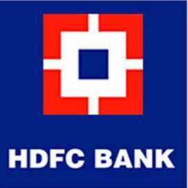 Urgent Hiring for HDFC BANK male/female both candidates apply now all