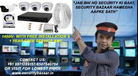 CP PLUS 2.4MP/ HIKVISION 2MP/ DAHUA 2MP 1080P HD NIGHT VISION CAME