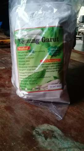 Tepung irut/garut bermanfaat