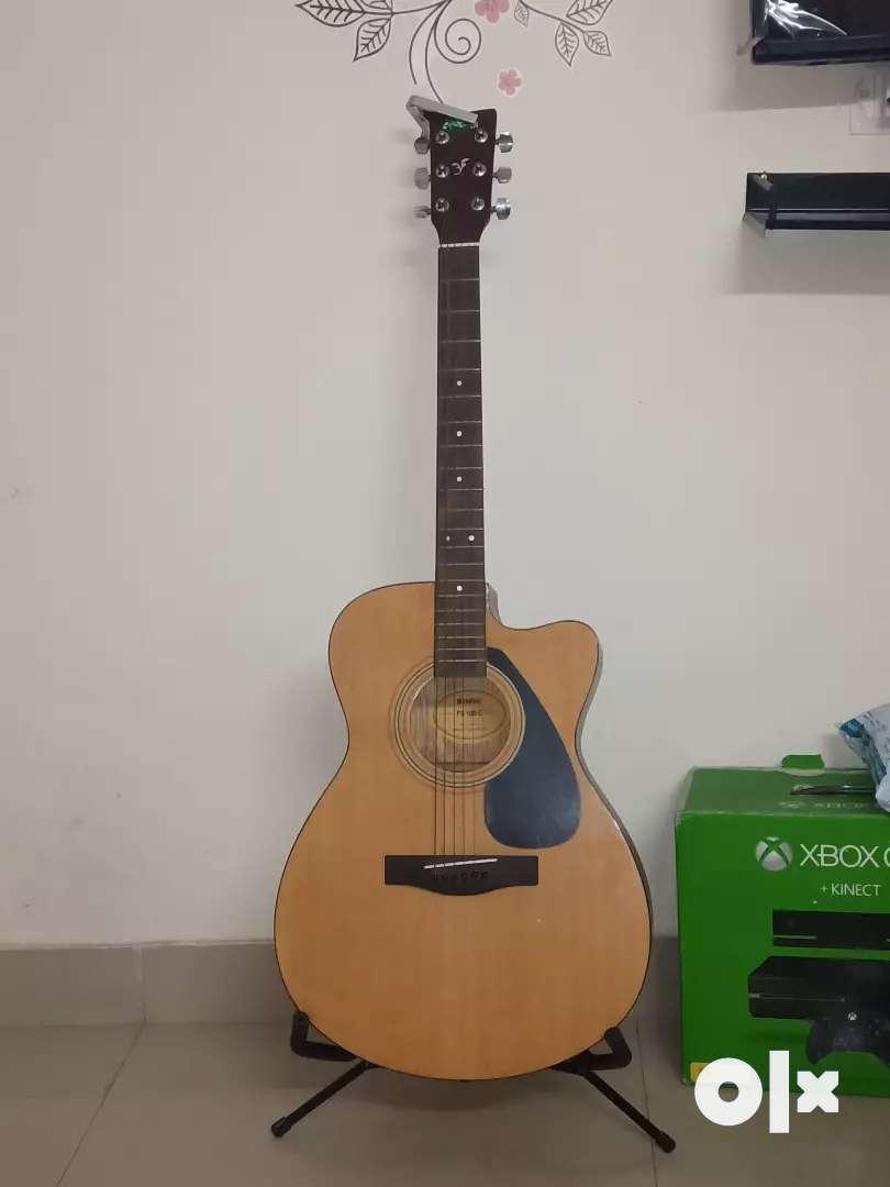 Yamaha acoustic guitar FS100C 0
