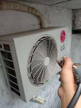 service/servis kulkas mesin cuci AC  tidak dingin Surabaya buduran