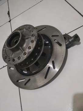 Paket tromol+piringan cakram+bosh roda gear Speedo meter