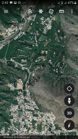 Very Good place Abbottabad per marla 350000