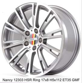 HSR Nancy ring 17x8 hole 5x112 et 35 Surakarta