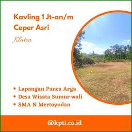 Area Pintu Tol Ceper Tanah Kavling Klaten Murah Lahan Matang SHM