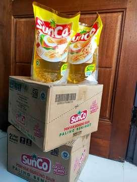 minyak goreng Sunco 2liter