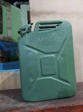 Jeep WWII jerry Can 20 L