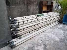 """Pipa hidroponik uk. 3"""" panjang 4 meter"""