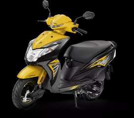 Honda/dio pay Rs.9999  No business proof and salary slip not required