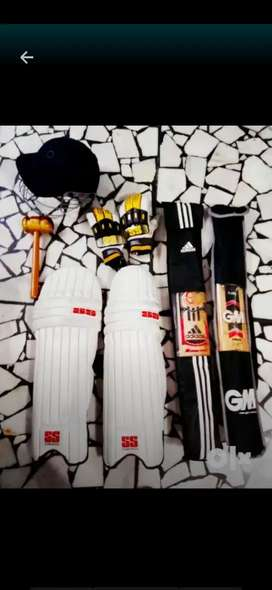 S. S.  Full cricket kit with bag