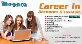 Accounts & Taxation Practical Training With Gst