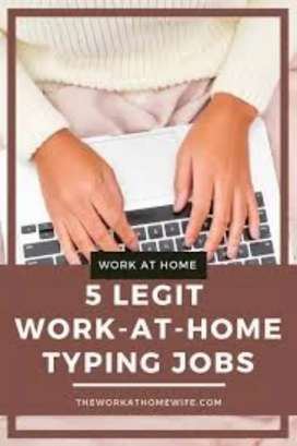 DATA ENTRY PART TIME TYPING WORK