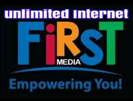 FIRST MEDIA WIFI INTERNET UNLIMITED TV FIRSTMEDIA