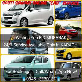 """Online """"CAB"""" Service Available In KARACHI"""