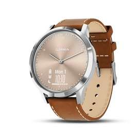 Garmin VIVOMOVE HR Premium - Silver Tan