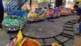 Mini coaster rel bawah bercorak odong diskon ND