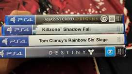 Ps4 Games good condition
