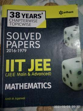 IIT JEE (Jee Advanced & Jee main) Mathematics Previous Year paper