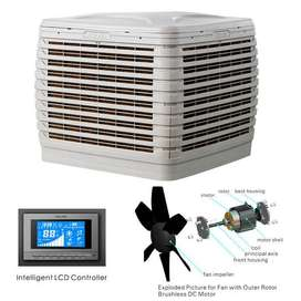duct evaporative  air cooler for factory masjid home and big hall