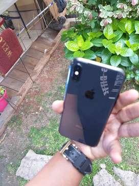Iphone x 64Gb full box xbata cellll