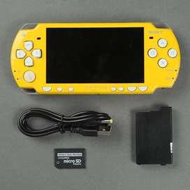 PSP 2000 Simpsons slim kuning putih 16 gb