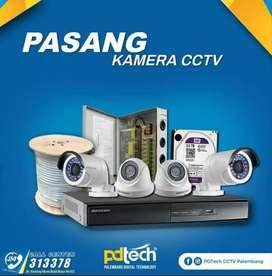 Paket Kamera CCTV Dahua & Spc 4 Channel Paling Murah