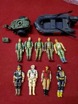 Gijoe action figures for trade/exchange only