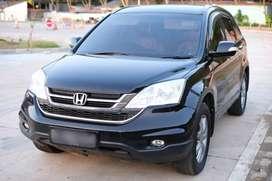 Jual Honda CRV 2010 Hitam Mulus Low KM Tangan Langsung