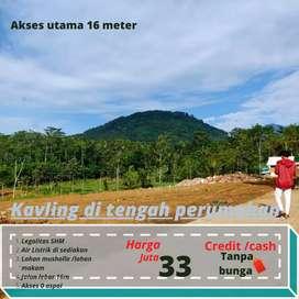 Investasi Kavling Strategis Malang View Pegunungan