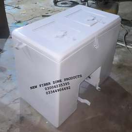 Fiber glass delivery boxes for food items