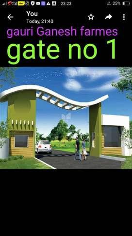 Gouri Ganesh farms plot land