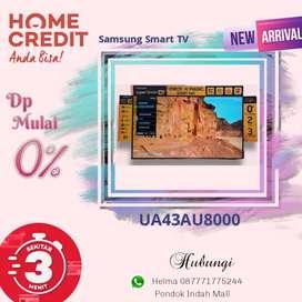 Samsung Smart TV UA43AU8000 Kredit Tanpa Kartu Kredit Proses Cepat