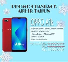 Promo akhir tahun Oppo A1k