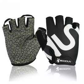 BOODUN Sarung Tangan Gym Half Finger - Size L - Black