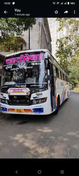 49 Seater Ashok Leyland Bus travels selling