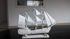 Paper craft pirate ship