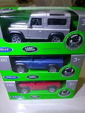 diecast landrover scale 1:60 welly series
