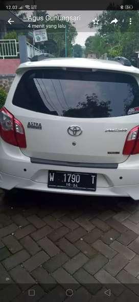 Mobil kesayangan Agya 2014 mulus ex cewex