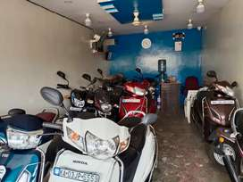 Honda Activa 5G single owner loan finance is available