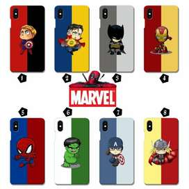 Hardcase All Type Hp 3D Full Printing MARVEL - Bisa Cod