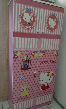 Dijual Lemari Pakaian Anak Hello Kitty