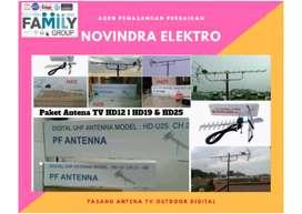 Jual antena tv digital + pemasangan lokasi dekat Sukamajaya