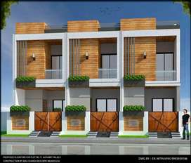 3 BHK Duplex house available in nipaniy