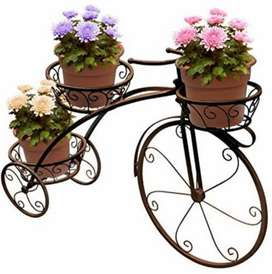 Bicycle Plant Stand Flower Pot Holder