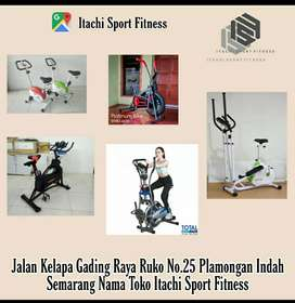 Jual Alat Fitness Sepeda Statis Treadmill Home Gym  ( BTR RED A )